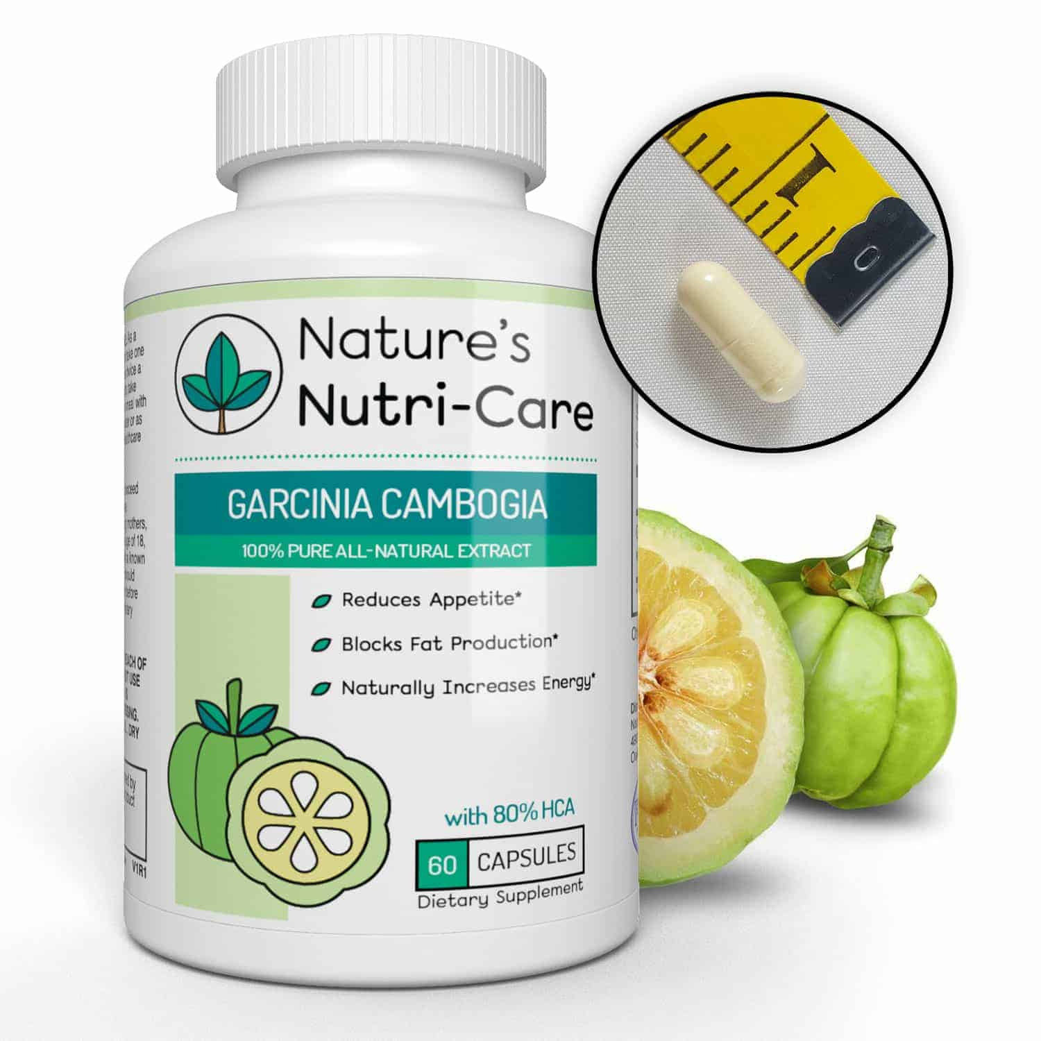 Garcinia Cambogia by Creative Bioscience is a pumpkin-shaped fruit native to Indonesia The ingredient in Garcinia's rind that helps you eat less is Hydroxycitric acid, or HCA When combined with reasonable weight loss efforts including sensible eating and staying active, researchers have found that HCA can double or triple diet results.