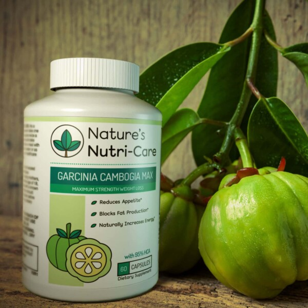 Nature's Nutri-Care Garcinia Cambogia helps control cravings so you eat less naturally without feeling hungry. Begin your journey to a slimmer you!