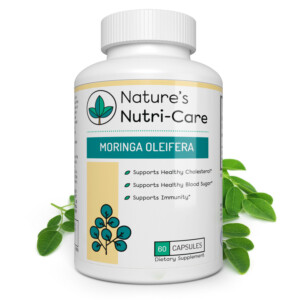 Nature's Nutri-Care Moringa Oleifera Capsules - Pure Extract - 800 mg - 60 Capsules - Complete Nutritional Support Supplement - Raw Natural Superfood